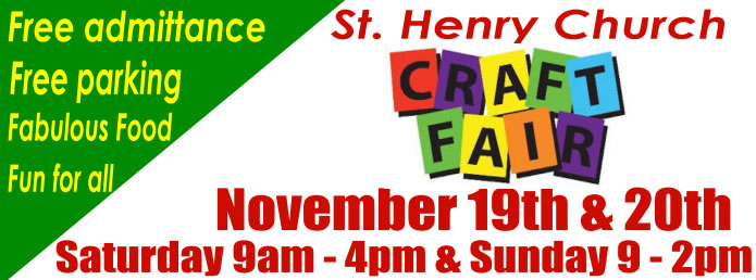 Craft Fair at St Henry's